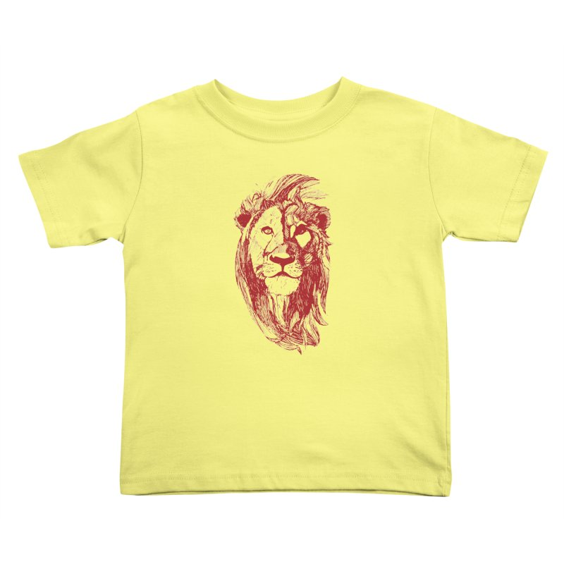 King Kids Toddler T-Shirt by Jeannie Hart's Thread Shop