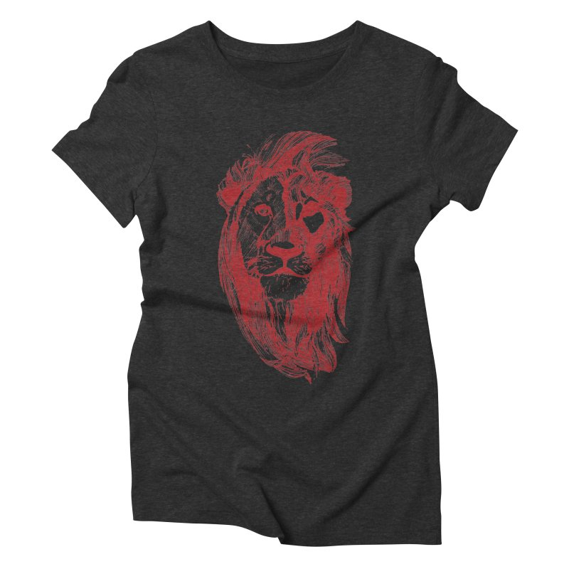 King Women's Triblend T-Shirt by Jeannie Hart's Thread Shop