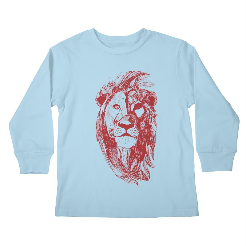 King Kids Longsleeve T-Shirt by Jeannie Hart's Thread Shop