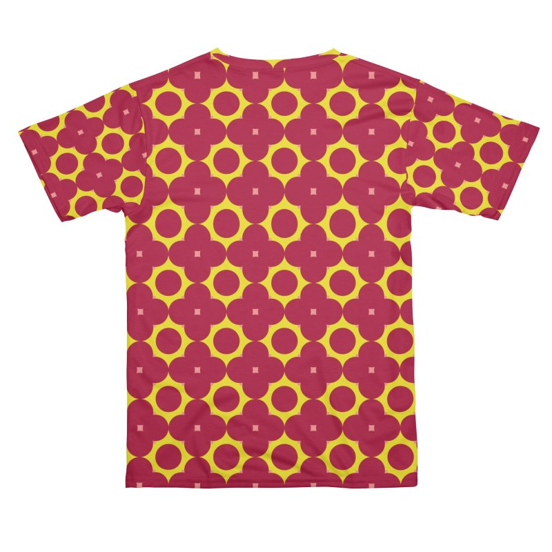 Geometric Seamless Pattern - Floral 017#001 Men's Cut & Sew by jeeneecraftz