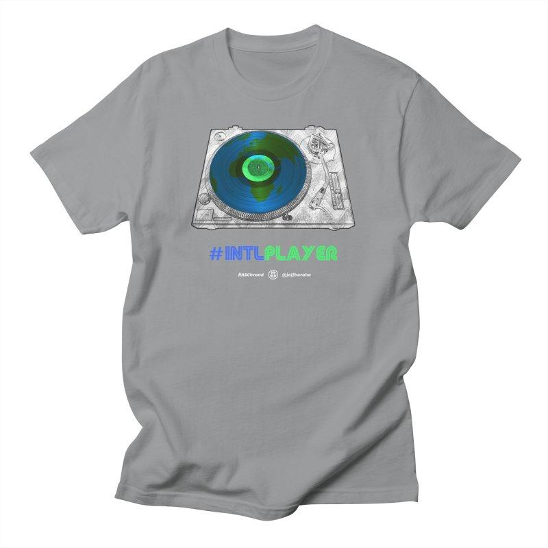 #INTLPLAYER A-side Men's T-Shirt by Ankh, Shield & Circle