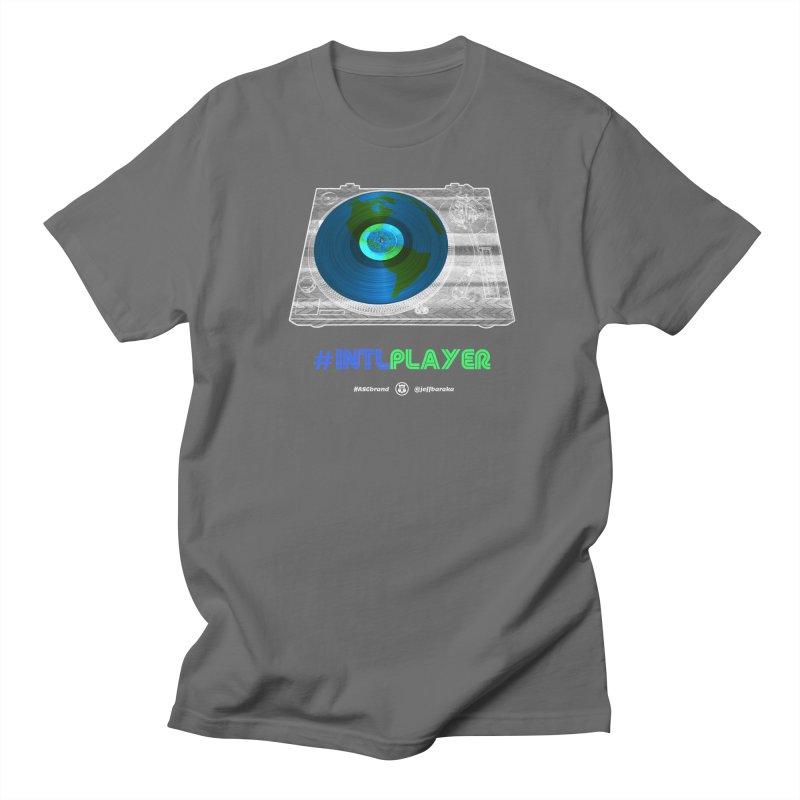 #INTLPLAYER B-side Men's T-Shirt by Ankh, Shield & Circle