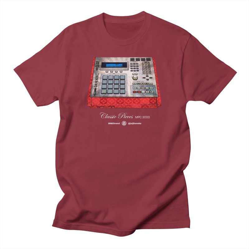 Classic Pieces MPC 3000 Men's T-Shirt by Ankh, Shield & Circle