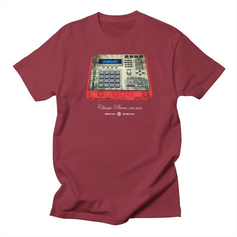 Classic Pieces MPC 3000 Men's Regular T-Shirt by Ankh, Shield & Circle