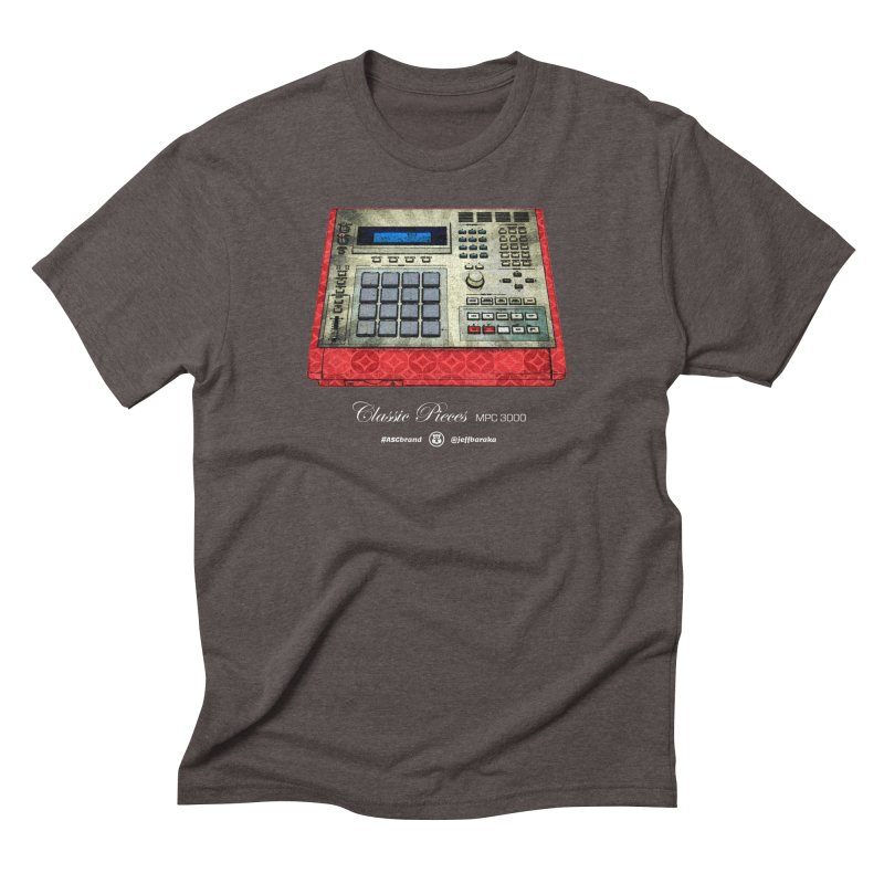 Classic Pieces MPC 3000 Men's Triblend T-Shirt by Ankh, Shield & Circle