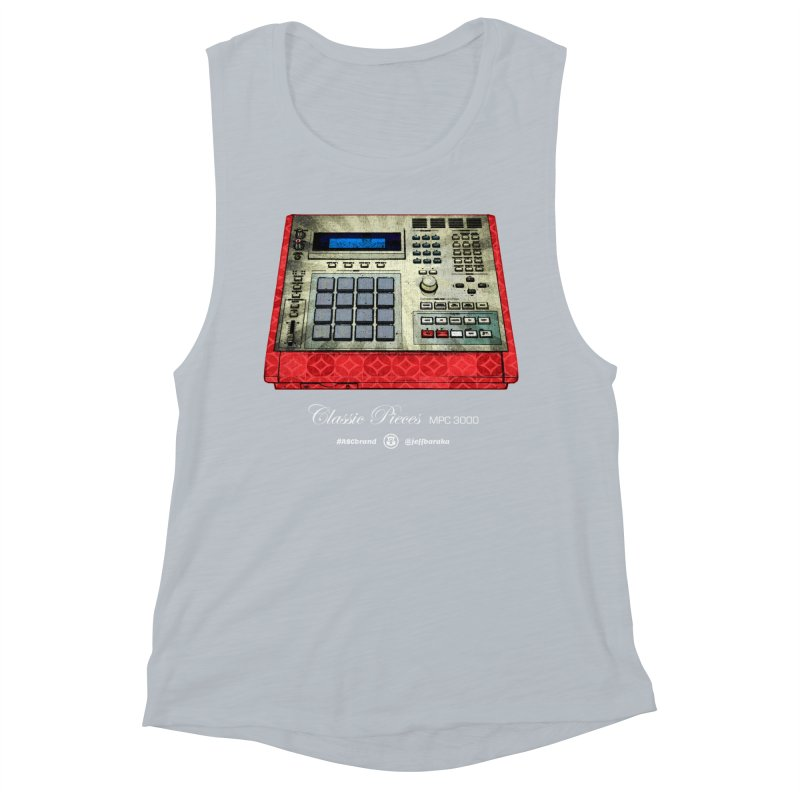 Classic Pieces MPC 3000 Women's Muscle Tank by Ankh, Shield & Circle