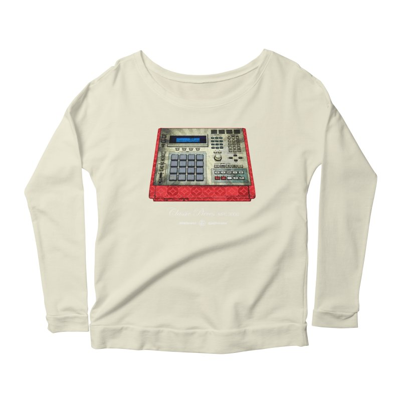 Classic Pieces MPC 3000 Women's Scoop Neck Longsleeve T-Shirt by Ankh, Shield & Circle