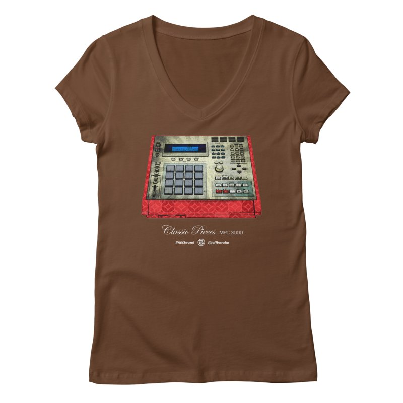 Classic Pieces MPC 3000 Women's Regular V-Neck by Ankh, Shield & Circle