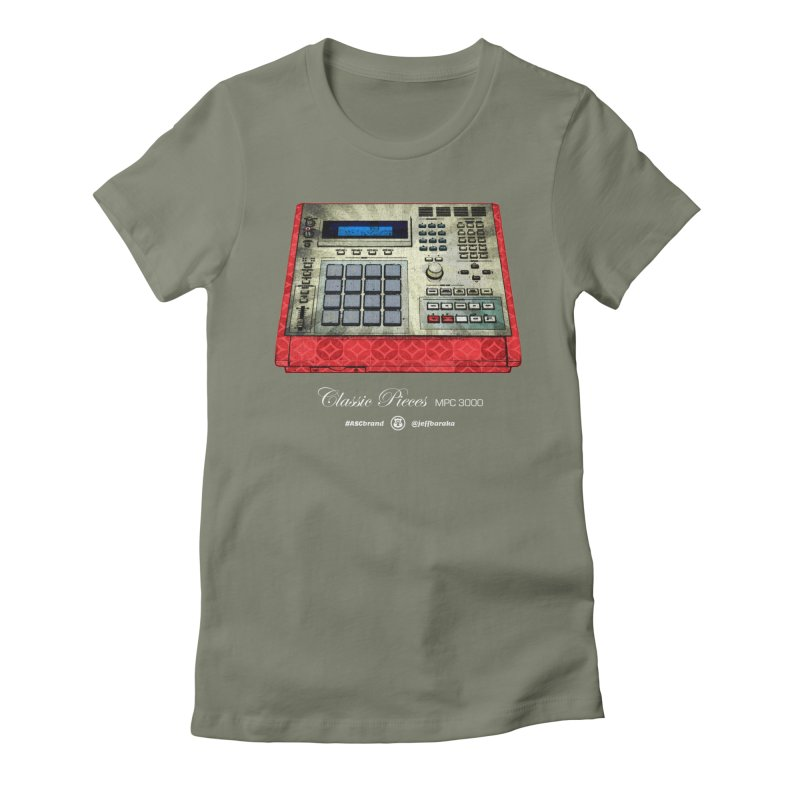 Classic Pieces MPC 3000 Women's Fitted T-Shirt by Ankh, Shield & Circle