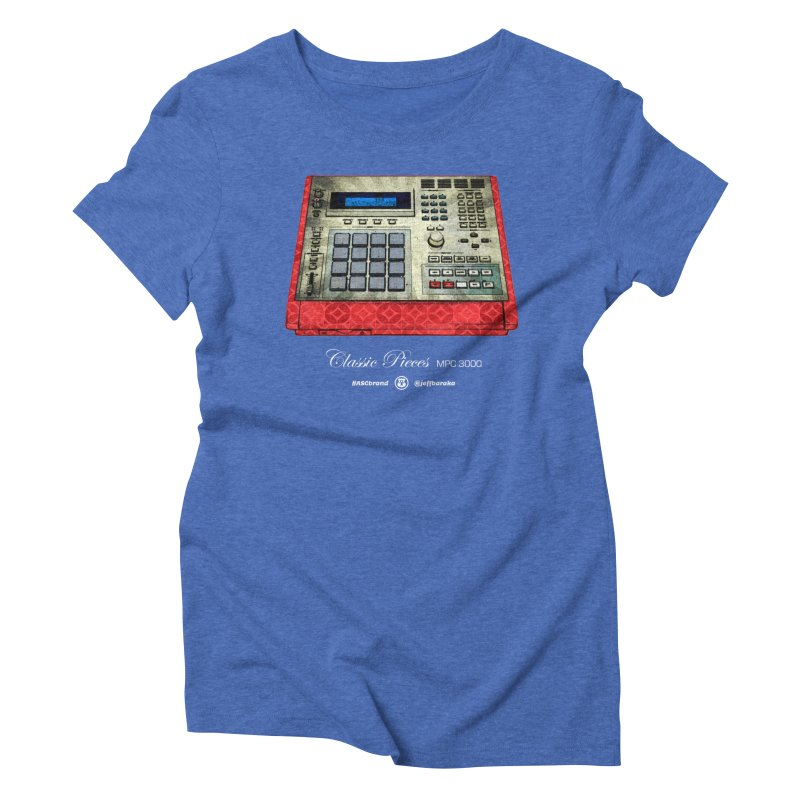Classic Pieces MPC 3000 Women's Triblend T-Shirt by Ankh, Shield & Circle