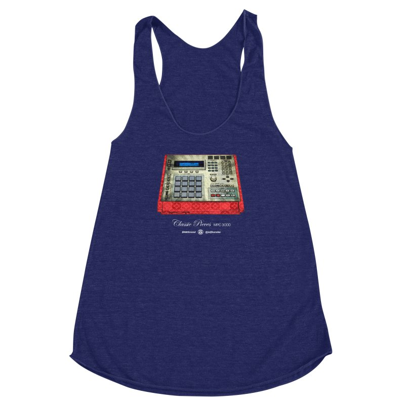 Classic Pieces MPC 3000 Women's Racerback Triblend Tank by Ankh, Shield & Circle