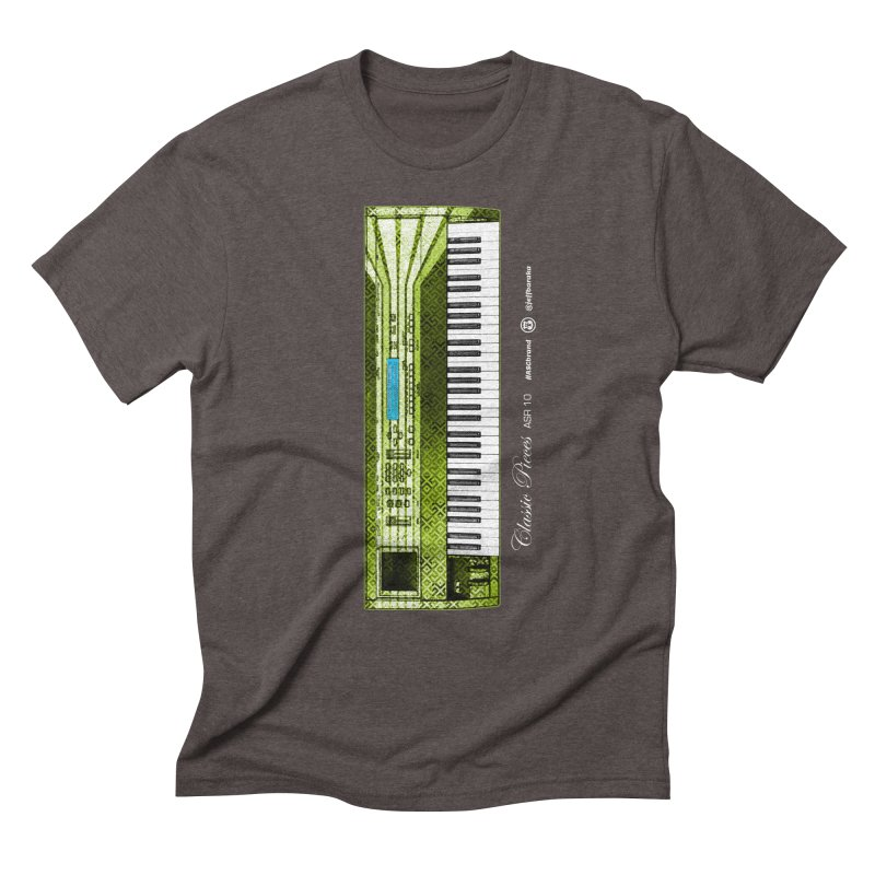 Classic Pieces ASR 10 Men's Triblend T-Shirt by Ankh, Shield & Circle