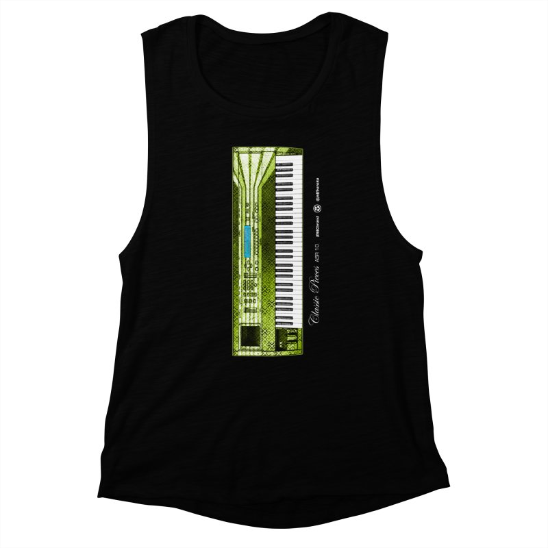 Classic Pieces ASR 10 Women's Muscle Tank by Ankh, Shield & Circle