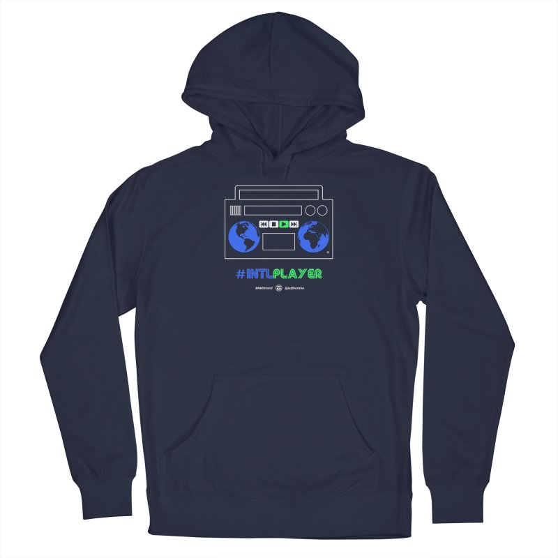 INTLPLAYER Boombox Men's Pullover Hoody by Ankh, Shield & Circle