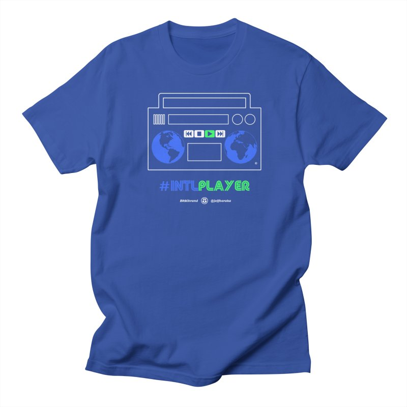 INTLPLAYER Boombox Women's Regular Unisex T-Shirt by Ankh, Shield & Circle