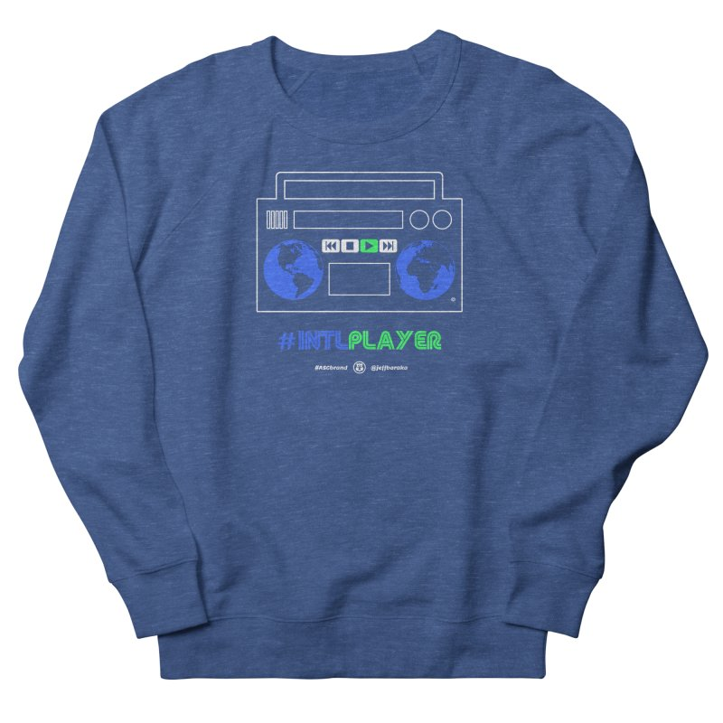 INTLPLAYER Boombox Women's French Terry Sweatshirt by Ankh, Shield & Circle