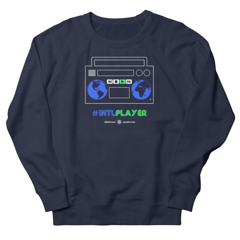 INTLPLAYER Boombox Men's French Terry Sweatshirt by Ankh, Shield & Circle