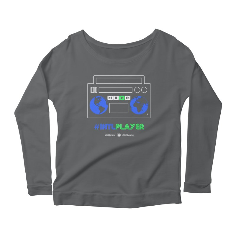 INTLPLAYER Boombox Women's Longsleeve T-Shirt by Ankh, Shield & Circle