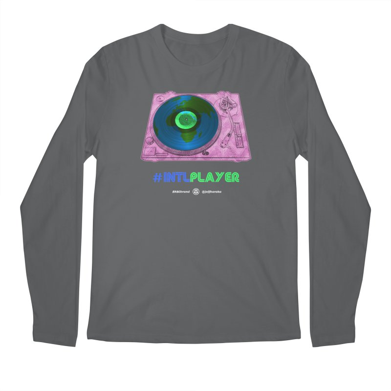 INTLPLAYER A-side Men's Longsleeve T-Shirt by Ankh, Shield & Circle