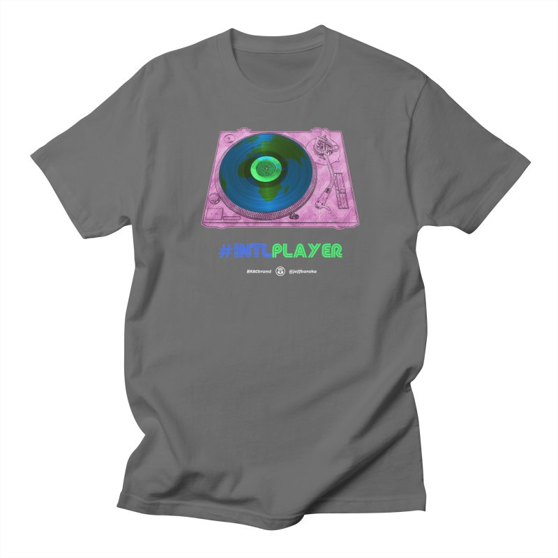 INTLPLAYER A-side Women's T-Shirt by Ankh, Shield & Circle