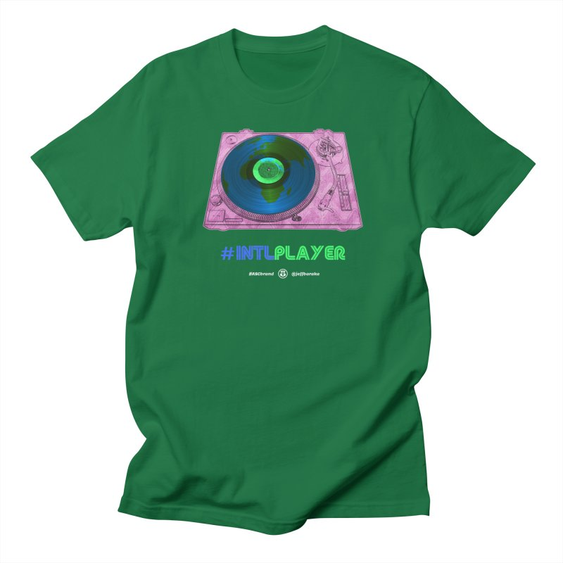 INTLPLAYER A-side Women's Regular Unisex T-Shirt by Ankh, Shield & Circle