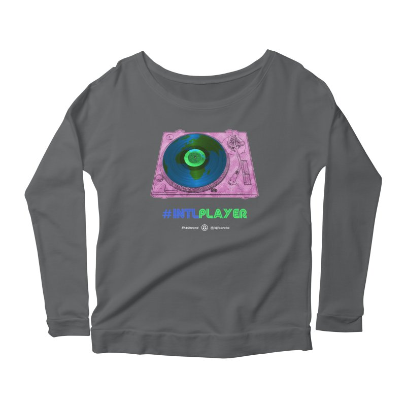 INTLPLAYER A-side Women's Longsleeve T-Shirt by Ankh, Shield & Circle