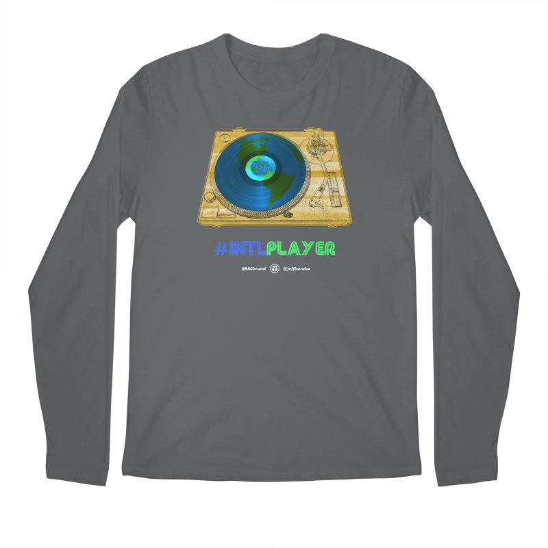 INTLPLAYER B-side Men's Longsleeve T-Shirt by Ankh, Shield & Circle