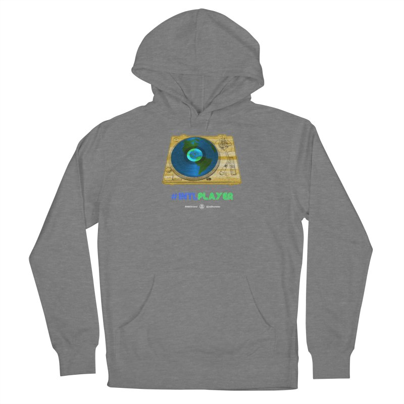INTLPLAYER B-side Women's Pullover Hoody by Ankh, Shield & Circle