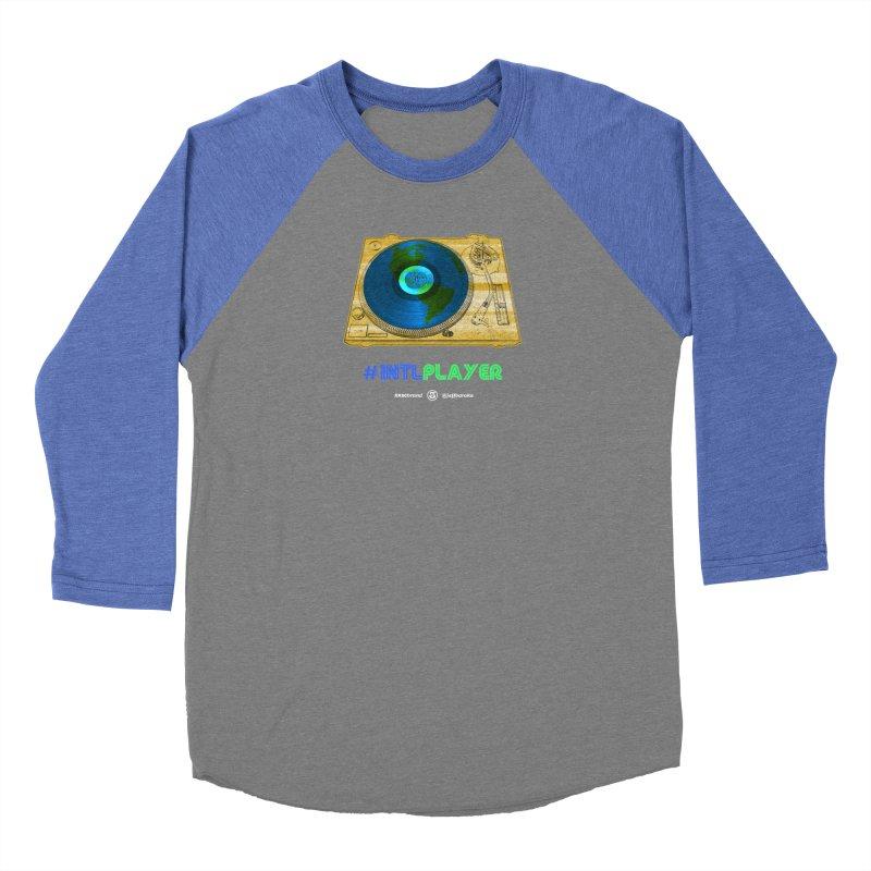 INTLPLAYER B-side Women's Longsleeve T-Shirt by Ankh, Shield & Circle