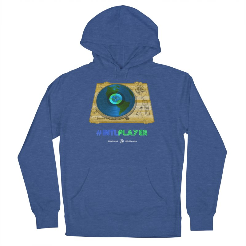 INTLPLAYER B-side Women's French Terry Pullover Hoody by Ankh, Shield & Circle