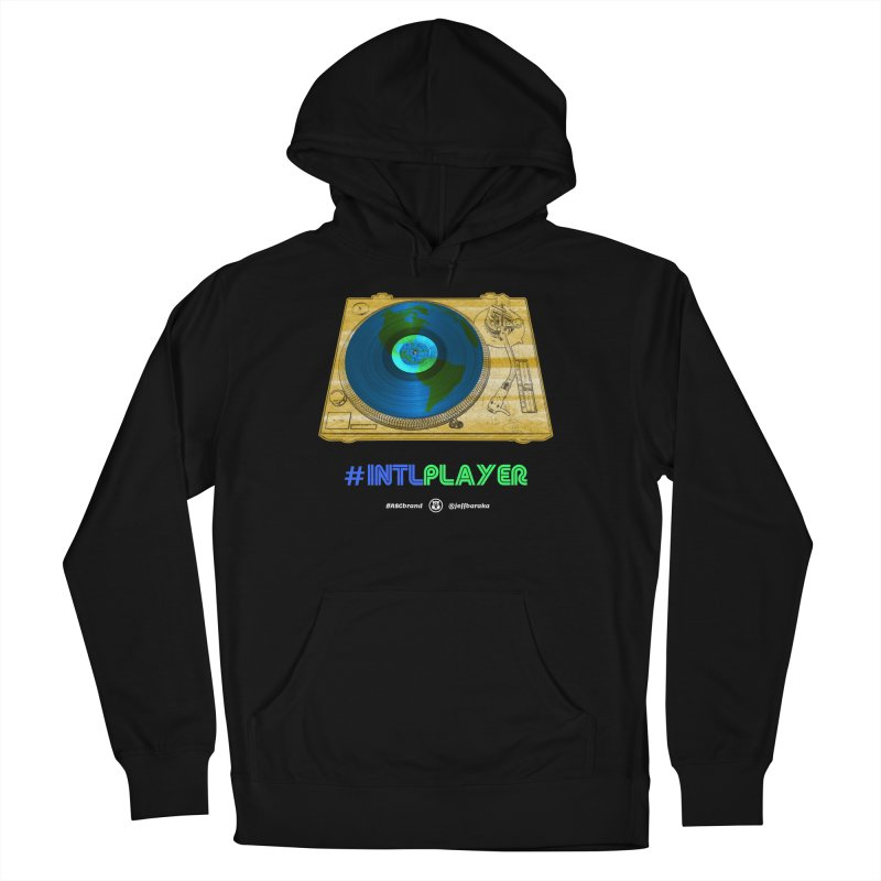 INTLPLAYER B-side Men's French Terry Pullover Hoody by Ankh, Shield & Circle