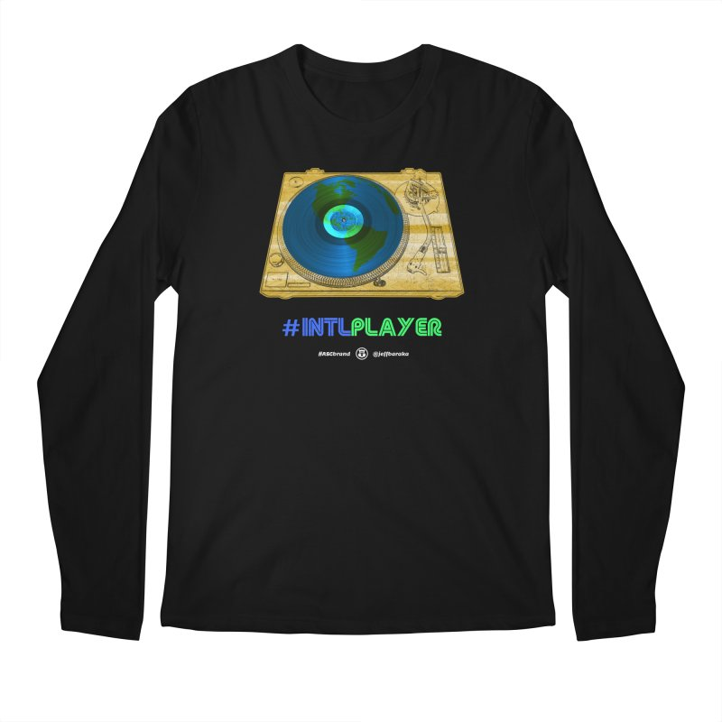 INTLPLAYER B-side Men's Regular Longsleeve T-Shirt by Ankh, Shield & Circle