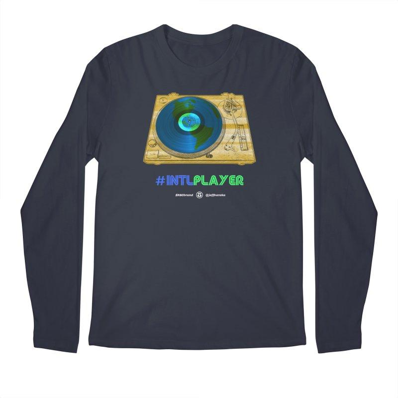 INTLPLAYER B-side Men's Regular Longsleeve T-Shirt by Ankh, Shield & Circle