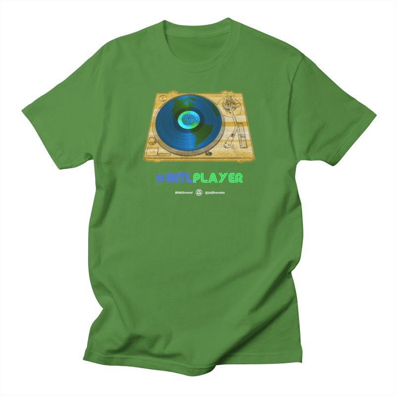 INTLPLAYER B-side Women's Regular Unisex T-Shirt by Ankh, Shield & Circle