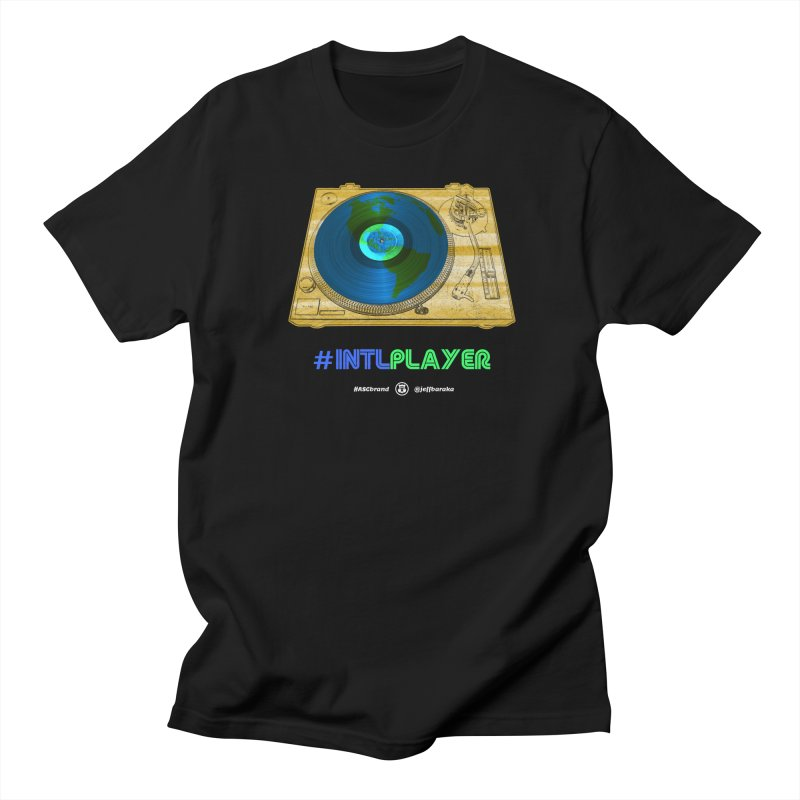 INTLPLAYER B-side Men's Regular T-Shirt by Ankh, Shield & Circle