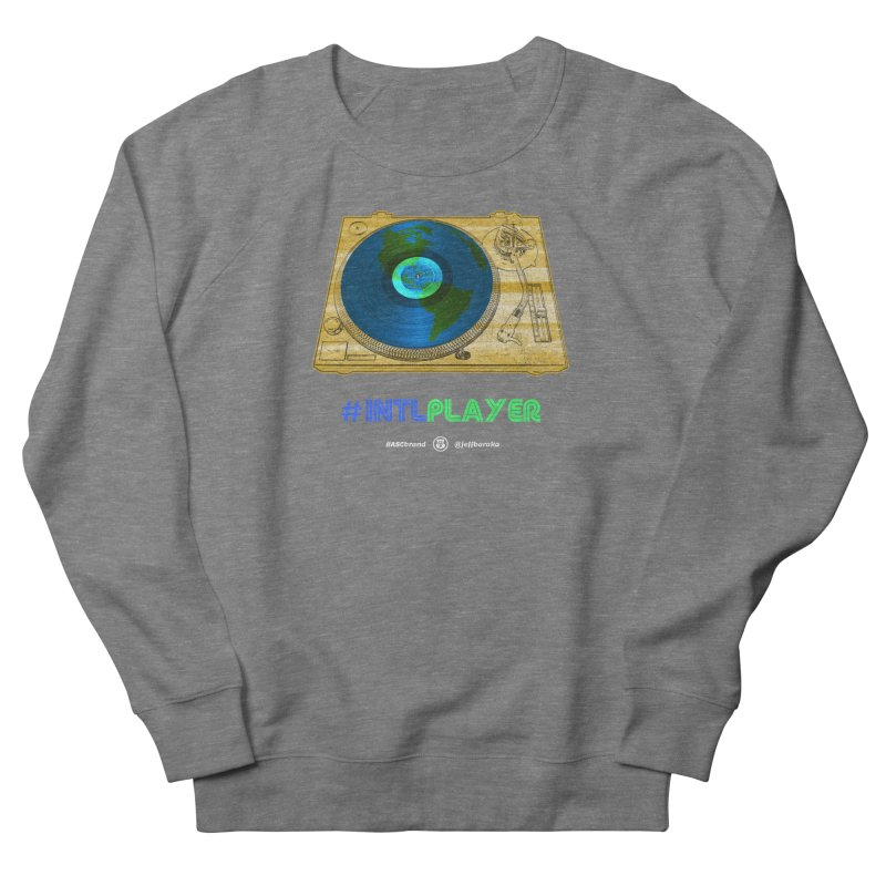 INTLPLAYER B-side Men's French Terry Sweatshirt by Ankh, Shield & Circle