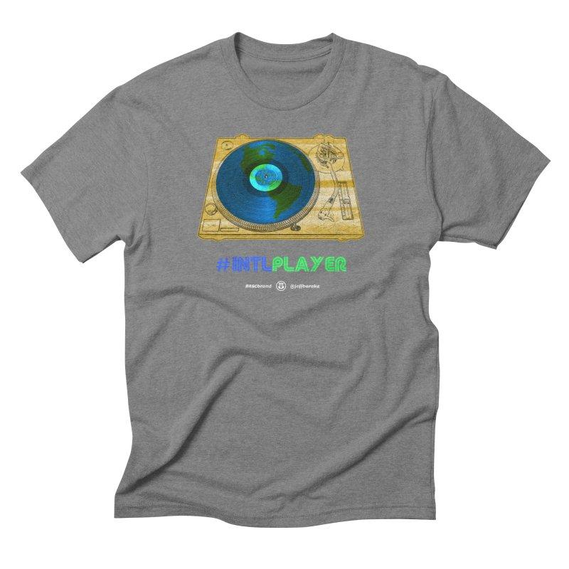 INTLPLAYER B-side Men's T-Shirt by Ankh, Shield & Circle