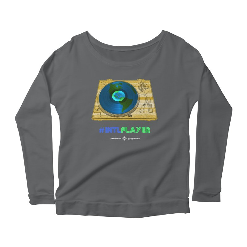 INTLPLAYER B-side Women's Longsleeve T-Shirt by Ankh, Shield & Circle