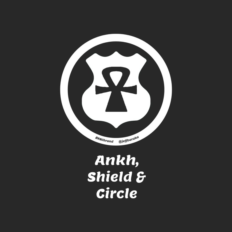 ASC Superhero 2 Men's T-Shirt by Ankh, Shield & Circle
