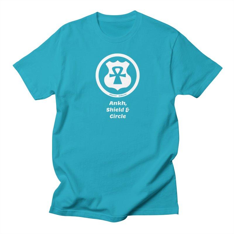 ASC Superhero 2 Men's Regular T-Shirt by Ankh, Shield & Circle
