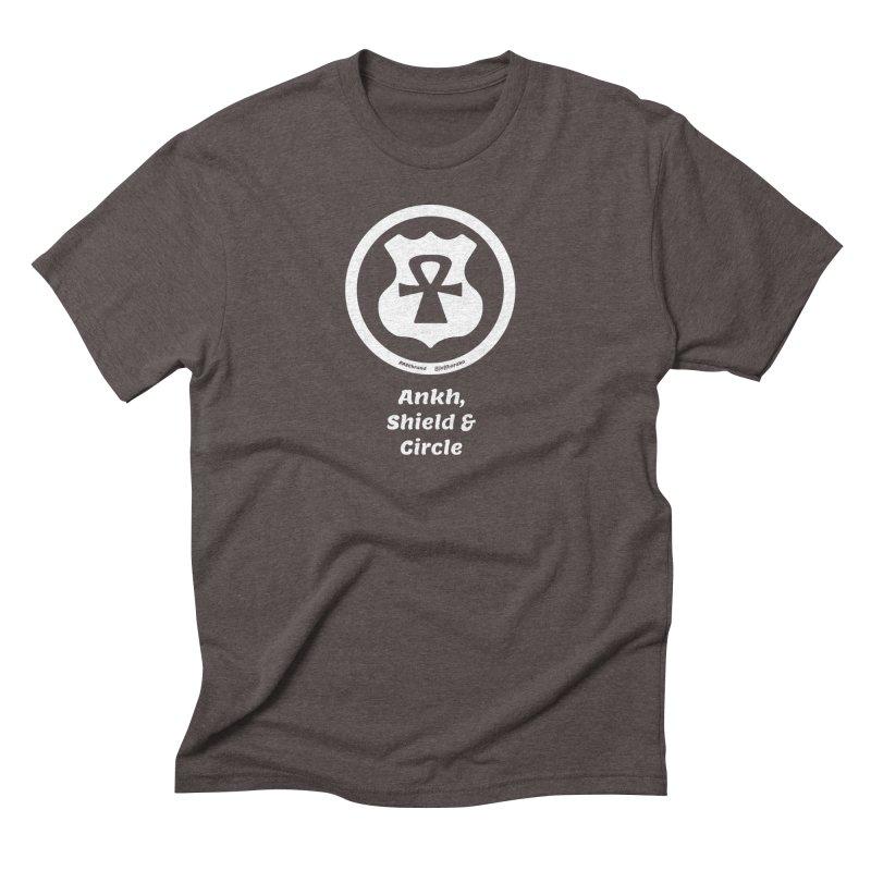 ASC Superhero 2 Men's Triblend T-Shirt by Ankh, Shield & Circle