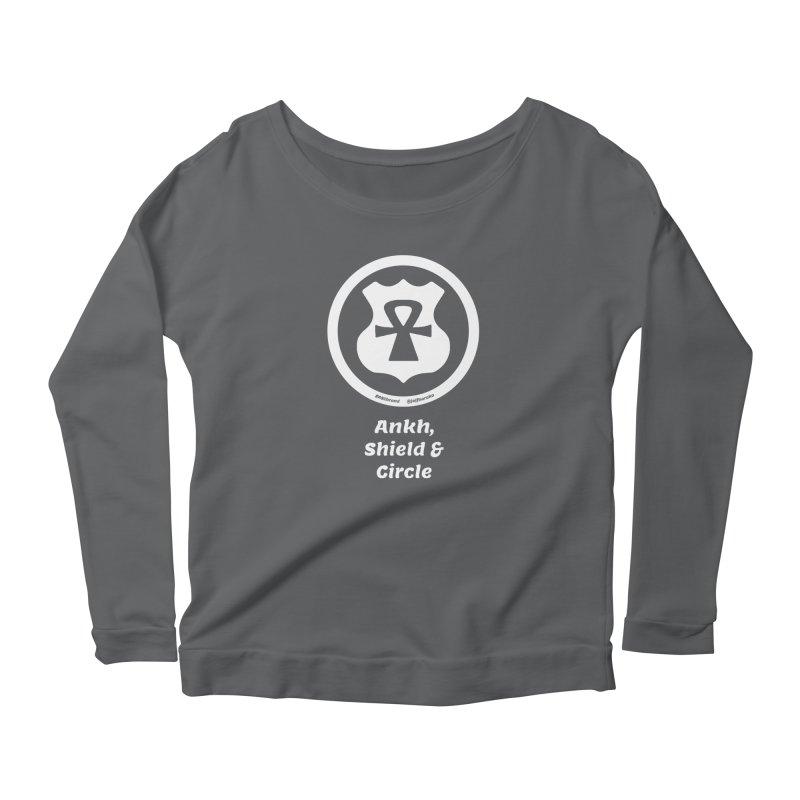 ASC Superhero 2 Women's Scoop Neck Longsleeve T-Shirt by Ankh, Shield & Circle