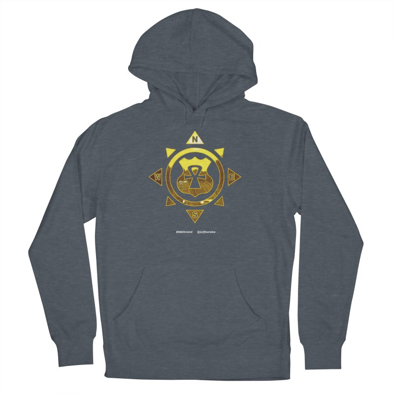 ASC Compass Men's French Terry Pullover Hoody by Ankh, Shield & Circle