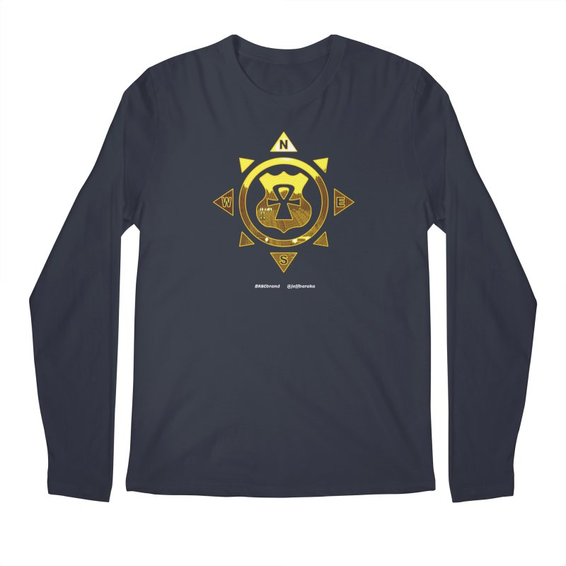 ASC Compass Men's Regular Longsleeve T-Shirt by Ankh, Shield & Circle