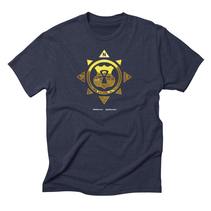 ASC Compass Men's Triblend T-Shirt by Ankh, Shield & Circle