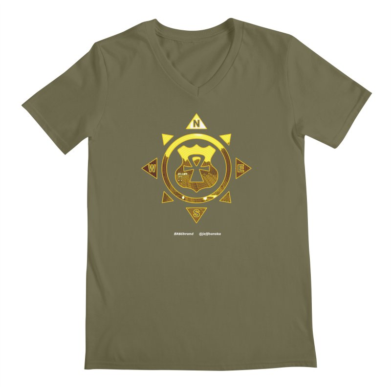 ASC Compass Men's V-Neck by Ankh, Shield & Circle