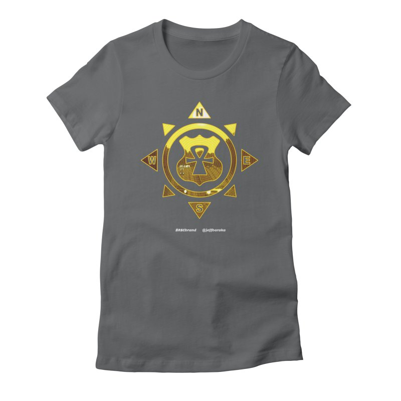 ASC Compass Women's Fitted T-Shirt by Ankh, Shield & Circle