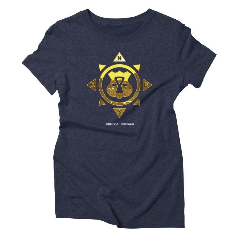 ASC Compass Women's Triblend T-Shirt by Ankh, Shield & Circle