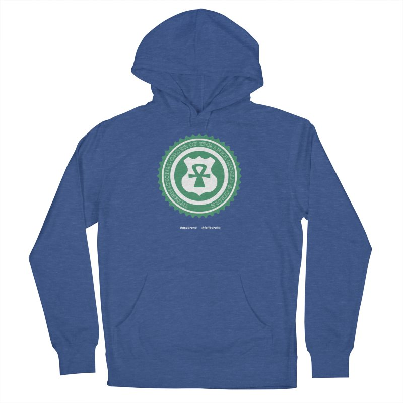 ASC Dollar Seal Men's French Terry Pullover Hoody by Ankh, Shield & Circle