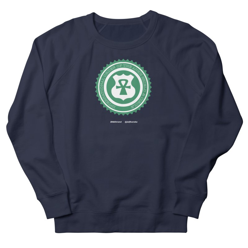 ASC Dollar Seal Women's French Terry Sweatshirt by Ankh, Shield & Circle